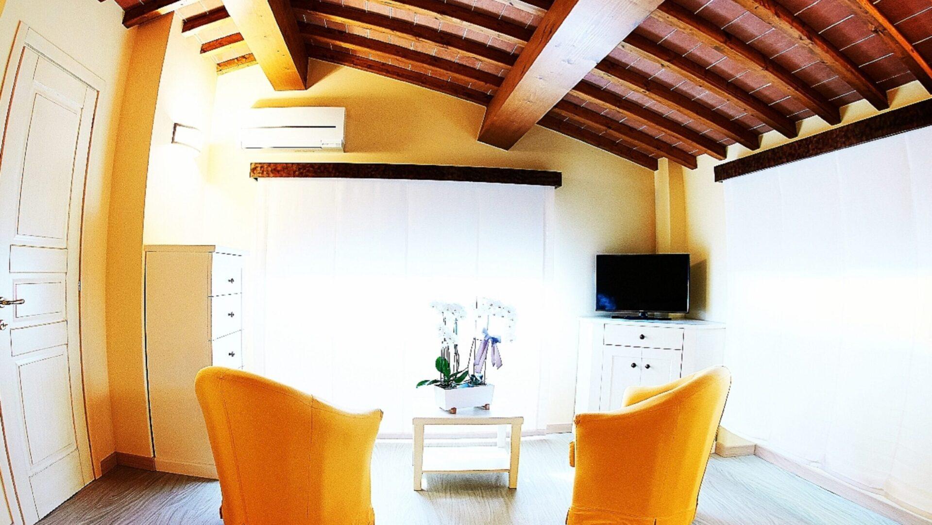 Appartamento Fuoco Salotto camera